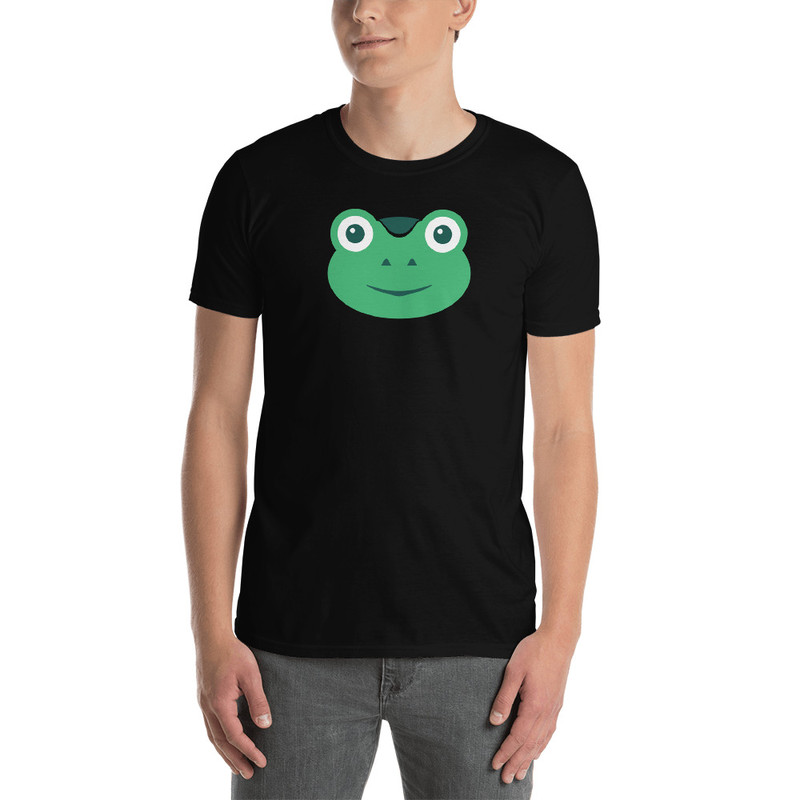Gabby The Frog - Black / L
