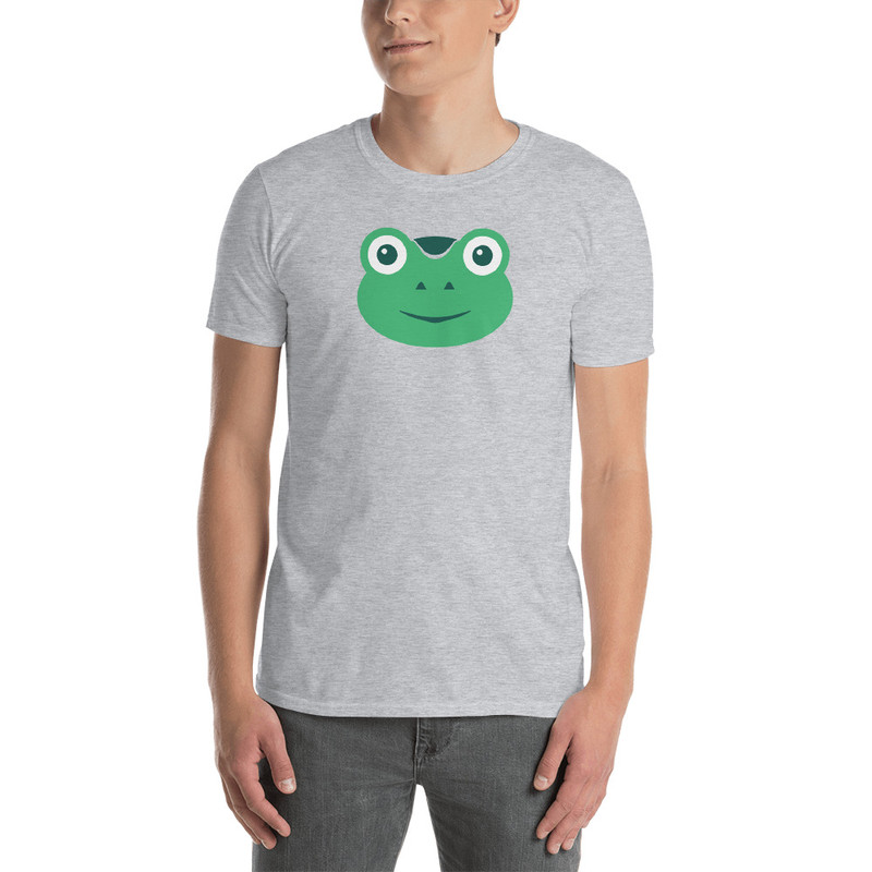 Gabby The Frog - Sport Grey / L