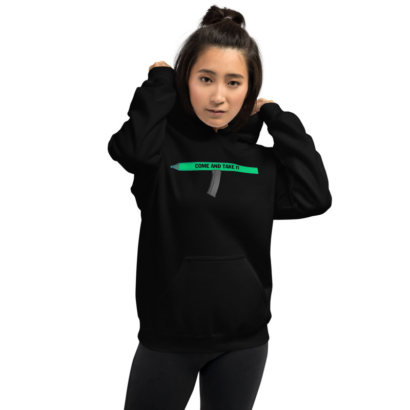 Come and Take It Unisex Hoodie - M