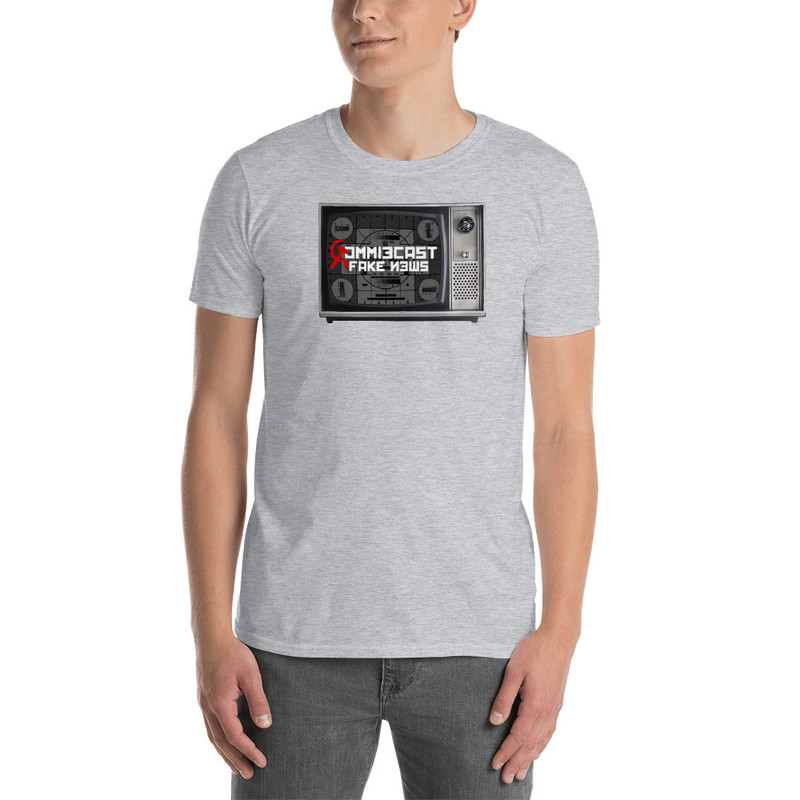 Commiecast Fake News - Sport Grey / XL