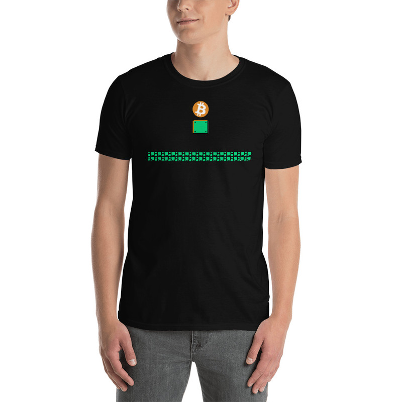 Bitcoin Blocks - Black / XL