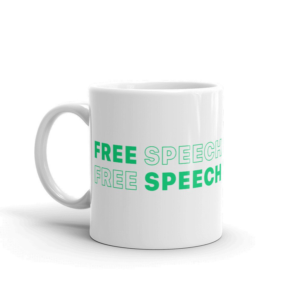 Free Speech Mug - 11oz