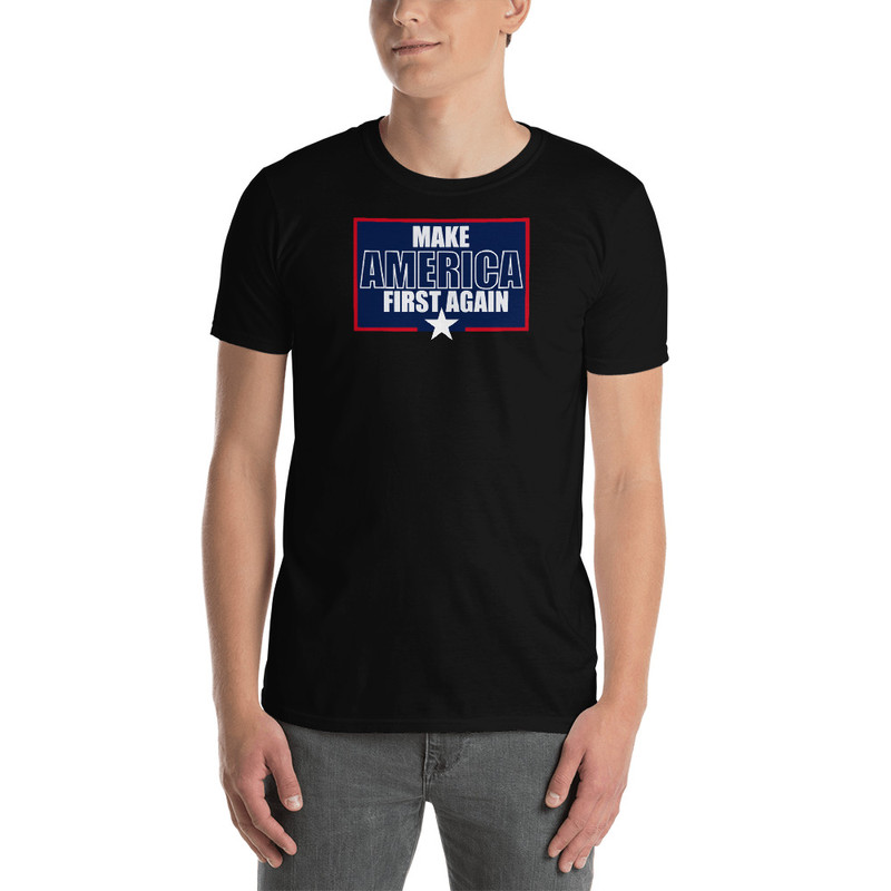 Make America First Again - Black / L