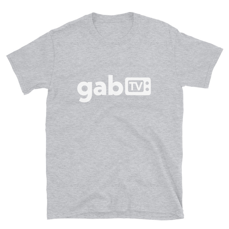 Gab TV Short-Sleeve Unisex T-Shirt - Sport Grey / M