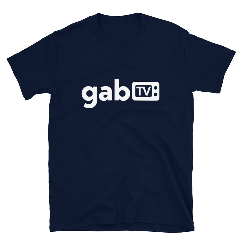 Gab TV Short-Sleeve Unisex T-Shirt - Navy / S